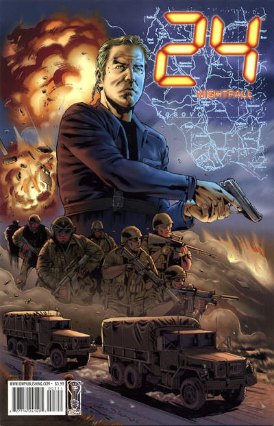 Cover for 24: Nightfall (IDW, 2006 series) #3 [Joe Corroney Cover]