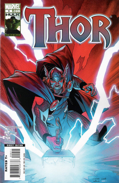 Cover for Thor (Marvel, 2007 series) #9