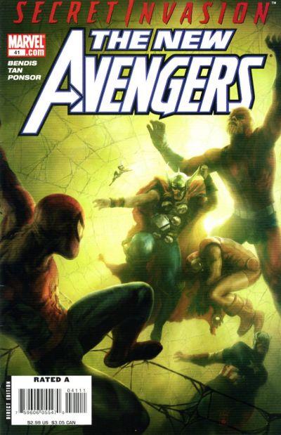 Cover for New Avengers (Marvel, 2005 series) #41