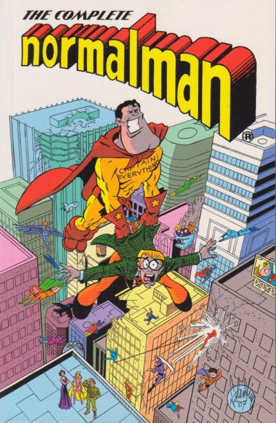 Cover for The Complete normalman (Image, 2007 series) #1