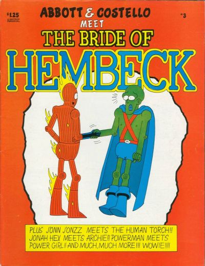 Cover for Abbott and Costello Meet the Bride of Hembeck [Hembeck Series] (FantaCo Enterprises, 1980 series) #3