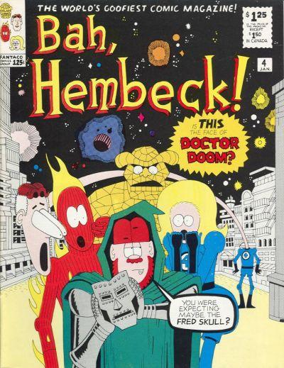 Cover for Bah, Hembeck! [Hembeck Series] (FantaCo Enterprises, 1980 series) #4