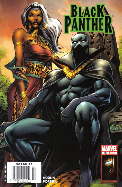 Cover for Black Panther (Marvel, 2005 series) #36