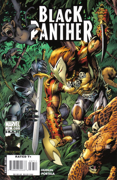 Cover for Black Panther (Marvel, 2005 series) #37