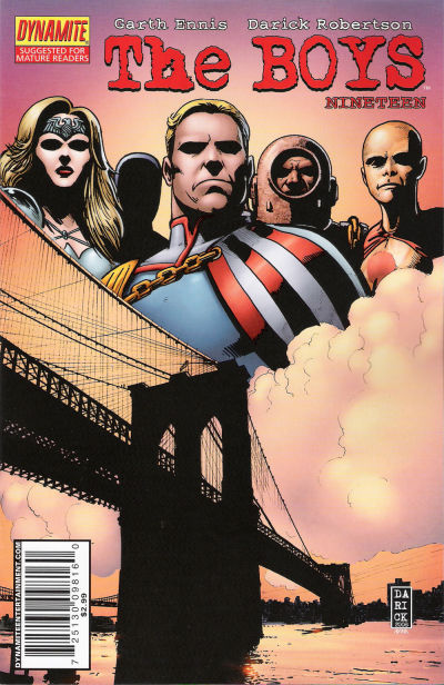 Cover for The Boys (Dynamite Entertainment, 2007 series) #19
