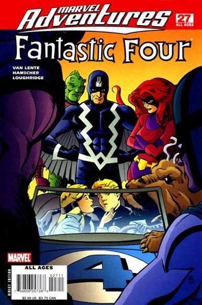 Cover for Marvel Adventures Fantastic Four (Marvel, 2005 series) #27