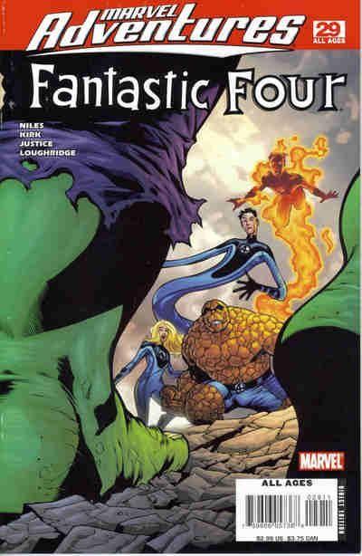 Cover for Marvel Adventures Fantastic Four (Marvel, 2005 series) #29