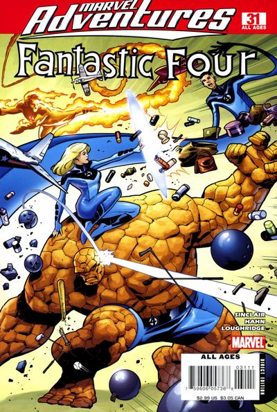 Cover for Marvel Adventures Fantastic Four (Marvel, 2005 series) #31
