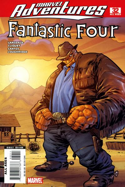 Cover for Marvel Adventures Fantastic Four (Marvel, 2005 series) #32