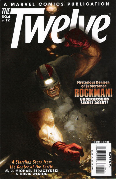 Cover for The Twelve (Marvel, 2008 series) #6