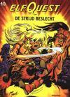 Cover for ElfQuest (Arboris, 1983 series) #40 - De strijd beslecht