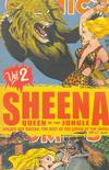 Cover for The Best of the Golden Age Sheena, Queen of the Jungle (Devil's Due Publishing, 2008 series) #2