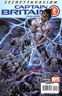 Cover Thumbnail for Captain Britain and MI: 13 (Marvel, 2008 series) #2