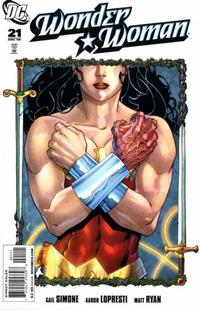 Cover Thumbnail for Wonder Woman (DC, 2006 series) #21