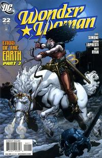 Cover Thumbnail for Wonder Woman (DC, 2006 series) #22
