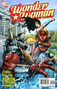 Cover Thumbnail for Wonder Woman (DC, 2006 series) #23