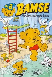 Cover Thumbnail for Bamse (Egmont, 1997 series) #8/2008