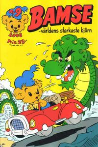 Cover Thumbnail for Bamse (Egmont, 1997 series) #9/2008