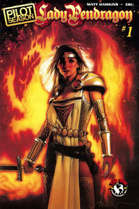 Cover Thumbnail for Lady Pendragon: Pilot Season (Top Cow Productions, 2008 series) #1