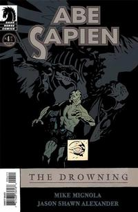 Cover Thumbnail for Abe Sapien: The Drowning (Dark Horse, 2008 series) #4