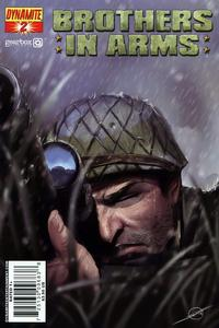 Cover Thumbnail for Brothers in Arms (Dynamite Entertainment, 2008 series) #2
