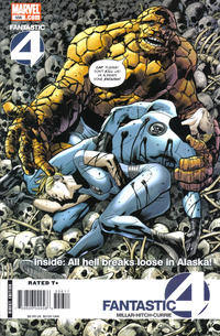 Cover Thumbnail for Fantastic Four (Marvel, 1998 series) #556 [Direct Edition]