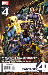 Cover Thumbnail for Fantastic Four (Marvel, 1998 series) #559 [Direct Edition]