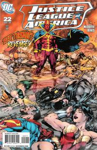 Cover Thumbnail for Justice League of America (DC, 2006 series) #22