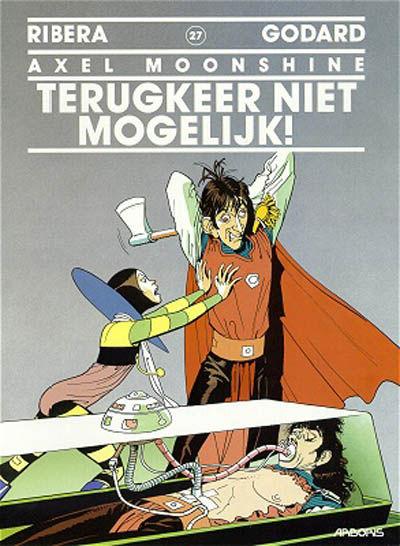 Cover for Axel Moonshine (Arboris, 1991 series) #27 - Terugkeer niet mogelijk!