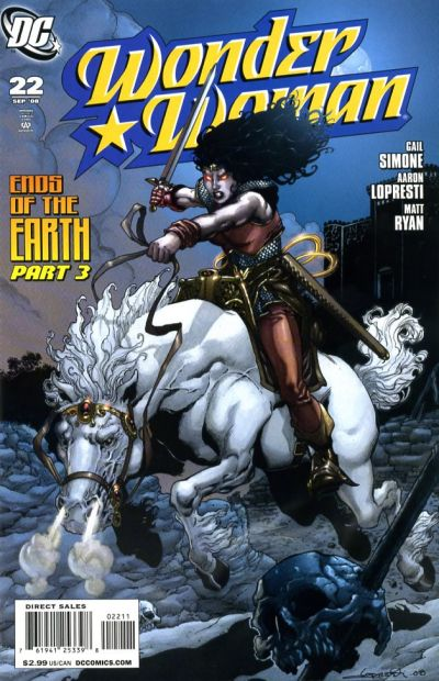 Cover for Wonder Woman (DC, 2006 series) #22