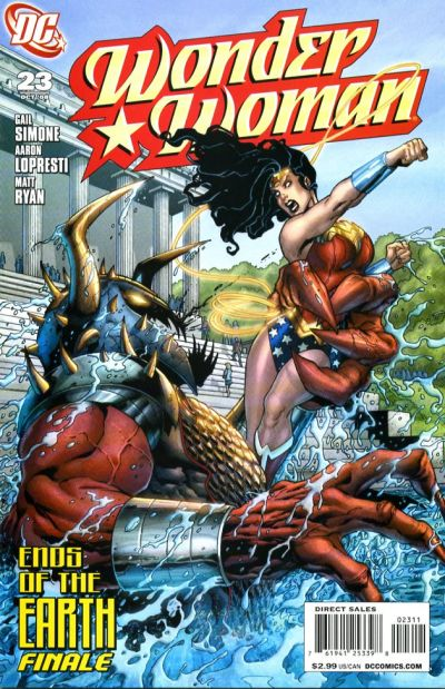 Cover for Wonder Woman (DC, 2006 series) #23