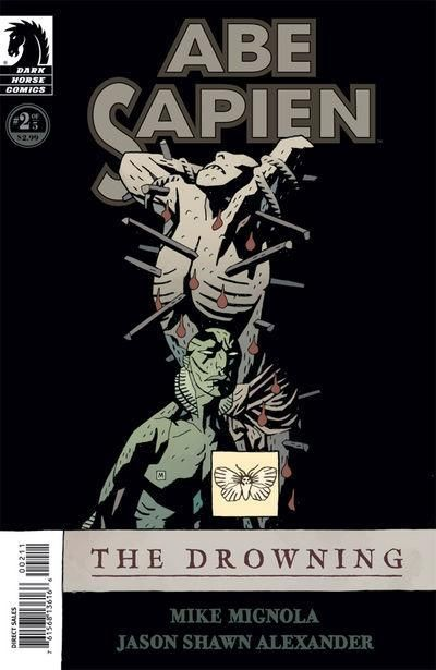 Cover for Abe Sapien: The Drowning (Dark Horse, 2008 series) #2