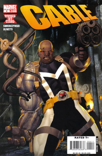Cover for Cable (Marvel, 2008 series) #4