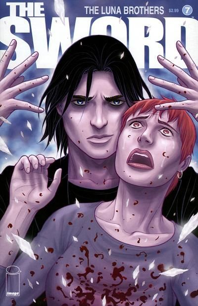 Cover for The Sword (Image, 2007 series) #7