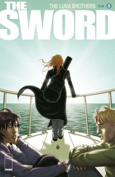 Cover for The Sword (Image, 2007 series) #8