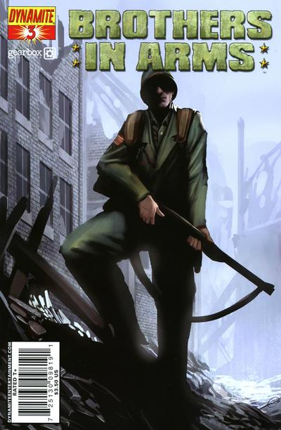 Cover for Brothers in Arms (Dynamite Entertainment, 2008 series) #3
