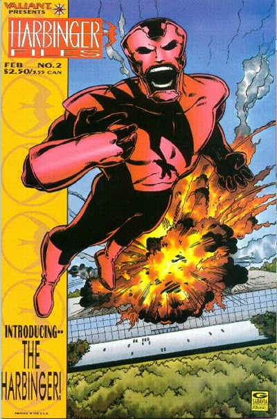 Cover for Harbinger Files (Acclaim / Valiant, 1994 series) #2