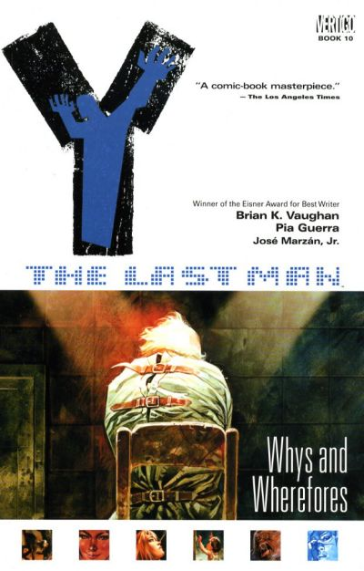 Cover for Y: The Last Man (DC, 2003 series) #10 - Whys and Wherefores