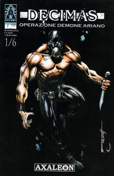 Cover for Decimas Operazione Demone Ariano (Axaleon Comics&Toons, 2007 series) #1