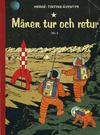Cover for Tintins äventyr (Illustrationsförlaget, 1968 series) #8 - Månen tur och retur del 2
