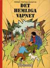 Cover for Tintins äventyr (Illustrationsförlaget, 1968 series) #10 - Det hemliga vapnet