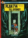 Cover for Tintins äventyr (Illustrationsförlaget, 1968 series) #16 - Plan 714 till Sydney