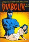 Cover for Diabolik (Pacific Comics Club, 1986 series) #1