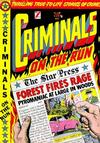 Cover for Criminals on the Run (Star Publications, 1949 series) #10