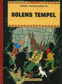 Cover Thumbnail for Tintins äventyr (Illustrationsförlaget, 1968 series) #4 - Solens tempel