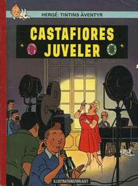 Cover Thumbnail for Tintins äventyr (Illustrationsförlaget, 1968 series) #14 - Castafiores juveler