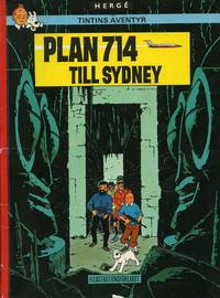 Cover Thumbnail for Tintins äventyr (Illustrationsförlaget, 1968 series) #16 - Plan 714 till Sydney