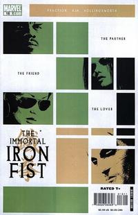 Cover Thumbnail for The Immortal Iron Fist (Marvel, 2007 series) #16