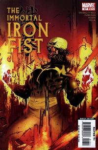 Cover Thumbnail for The Immortal Iron Fist (Marvel, 2007 series) #17