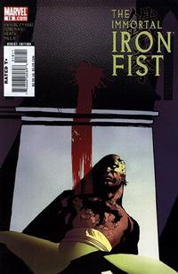 Cover Thumbnail for The Immortal Iron Fist (Marvel, 2007 series) #18